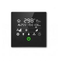 Termostat de camera cu touch screen CHTC-86/01.1.11, 3.5inch, 4 moduri, alerta la inghet