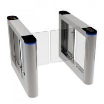 Turnichet acces cu brat de plexiglas YK-PB306A, 13 moduri operare, 35 pers/min, 0.3 sec