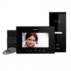 Kit videointerfon Electra Touch Line Extra VKE.P1SR.T7S9.ELB04, 1 familie, aparent, 7 inch