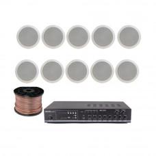 Sistem sonorizare STUDIO-M Chillout-3 Ceiling, 2 zone, USB