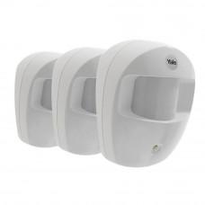 Set 3 senzori de miscare PIR-SR YALE 60-A100-3PIR-SR-5011, 868 MHz, WiFi