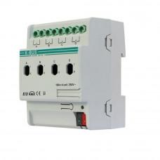 Actuator cu masurare a curentului ARCD-04/16.1, 4 canale, BUS, sina DIN