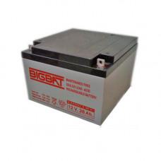 Acumulator compact acid-Pb 12V si 26Ah Elan EL-12-26