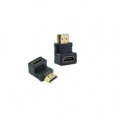 Adaptor HDMI mama-tata HDMI016, 90°