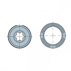 Adaptor rotund pentru motor tubular Nice 503.25