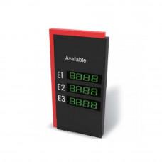 Tablou afisaj informatii sisteme de parcare D-PG40D, 220 Vca, 75 W