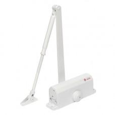 Amortizor hidraulic cu brat pentru usa SA-6033AW-wh, 40-65 Kg, alb, aluminiu