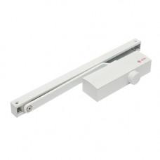 Amortizor hidraulic cu sina pentru usa SA-8023-wh, 40-65 Kg, alb, aluminiu