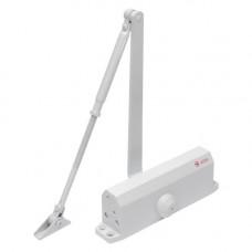 Amortizor hidraulic pentru usa Silin SA-5044AW-wh, 60-85 Kg