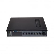 Amplificator cu mixer pentru radioficare Swissonic SA 125, 1 canal, 4 intrari mic, 120 W
