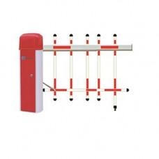Bariera de acces cu brat tip gard Genway GNV-BA-03-A / GNV-BA-03-B, 4-6 sec, 5 m