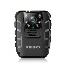 BODY CAMERA FULL HD PHILIPS VTR8100 + CARD 16 GB CADOU