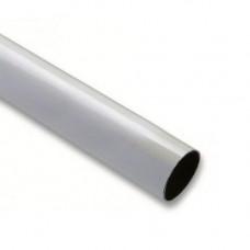 Brat cilindric bariera Nice WA3, 4 m, aluminiu, alb