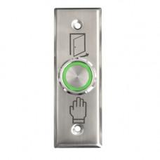 Buton de iesire cu actionare prin apasare SG-26-RG, ingropat, 12 Vcc, ingropat, inox
