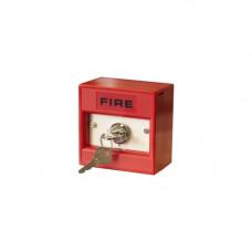 Buton de incendiu conventional cu cheie Hochiki CDX CCP-KS, 2 pozitii, IP24D, ABS rosu