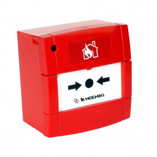 Buton de incendiu conventional cu LED Hochiki CDX CCP-E(LED), IP24, ABS rosu
