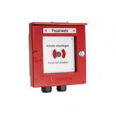 Buton de incendiu conventional Detectomat CT 3300 PDB-IP66-R