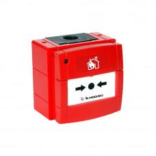 Buton de incendiu conventional rezistent la intemperii cu LED Hochiki CDX CCP-W(LED), IP67, ABS rosu