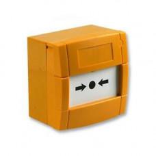 Buton de incendiu KAC MCP3A-Y000SG-STCK-12, aparent, galben