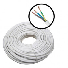 Cablu alimentare MYYM 3x1, 3x1.00 mm, plat, rola 100 m
