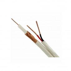 Cablu coaxial RG 59 + ALIMENTARE 2x0.75 (100 m)