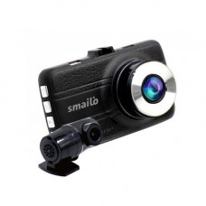 Camera auto duala cu DVR Smailo DoubleX, 3 MP, detectia miscarii