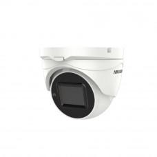 Camera supraveghere Dome Hikvision TurboHD POC DS-2CE56H0T-IT3ZE, 5 MP, IR 40 m, 2.7 -13.5 mm motorizat