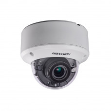 Camera supraveghere Dome Hikvision Ultra Low Light DS-2CE59H8T-AVPIT3ZF, 5 MP, IR 60 m, 2.7 - 13.5 mm motorizat
