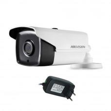 DS-2CE16D0T-IT3F este o camera de supraveghere TurboHD tip bullet de exterior de la Hikvision. Aceasta camera este echipata cu un senzor de 2 Megapixeli CMOS avand o rezolutie video de 1920 x 1080 pixeli. Lentila fixa de 2.8mm va pune la dispozitie un cam