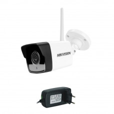Camera supraveghere IP wireless Hikvision DS-2CV1021G0-IDW1, 2 MP, IR 30 m, 2.8 mm + alimentare