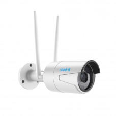 Camera supraveghere IP wireless Reolink RLC-410W, 4 MP, IR 30 m, 4 mm, microfon