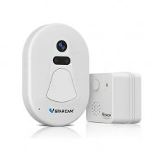 Camera supraveghere IP wireless tip sonerie/vizor VSTARCAM D1, Wi-Fi, distanta trasmisie 30 m