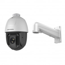 Camera supraveghere Speed Dome Hikvision Ultra Low Light TurboHD DS-2AE5225TI-A, 2 MP, IR 150 m, 4.8 - 120 mm, 25x + Suport