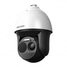 Camera supraveghere termica IP de exterior Hikvision DeepinView DS-2TD4136-50/V2, 2 MP, 200 m, detectie incendiu/temperatura
