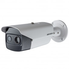 Camera supraveghere termica IP de exterior Hikvision DS-2TD2615-7, 2MP, 30 m, 6 mm