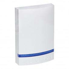 Capac alb cu strob albastru pentru sirena JABLOTRON 100 JA-1X1A-C-WH-B, plastic