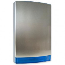 Capac cu strob albastru pentru sirena JABLOTRON 100 JA-1X1A-C-ST-B, otel inoxidabil
