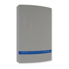 Capac gri cu strob albastru pentru sirena JABLOTRON 100 JA-1X1A-C-GR-B, plastic