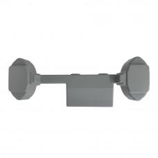 Capac protector pentru porti de detectie metale ARSENAL-RC-OVAL, ABS, gri