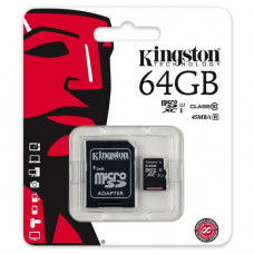 Card de memorie Kingston MicroSDHC 64GB