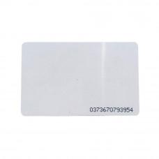 Card de proximitate RFID ISO TK4100, 125 Khz, inscriptionat 13D