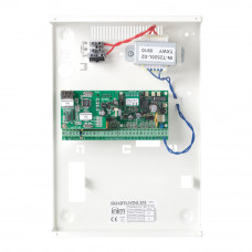 Centrala alarma antiefractie Inim SmartLiving 515 cu cutie metalica si traf, 5 partitii, 10 zone, 30 utilizatori