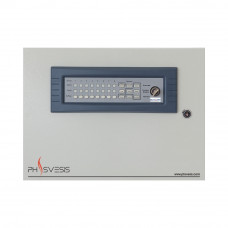 Centrala de incendiu conventionala 8 zone PH Svesis Matrix M2008-G8M, certificare ETL