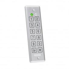 Cititor/controler antivandal ROSSLARE AYC - E55, 500 utilizatori, PIN, IP 65