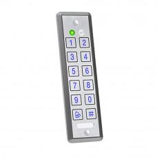 Cititor/controler antivandal ROSSLARE AYC - E65, 500 utilizatori, PIN/card, IP 65
