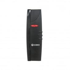 CDVI DGLP FN-WLC este un cititor de proximitate multi-protocol, atat pentru interior, cat si pentru exterior. Acesta poate citi  dispozitivele CDVI, Centaur si cele mai populare tag-uri/carduri 26 bit. DGLP FN WLC26 este rezistent la praf si intemperii, i