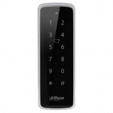 Cititor de proximitate RFID cu tastatura Dahua ASR1201D, Mifare 13.56 MHz, IP 65, interior/exterior