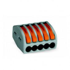 Conector PCT-215 pentru 5 fire 0.75 - 2.5 mm2, 10 BUC