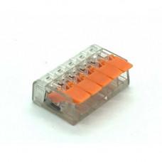 Conector PCT-415 pentru 5 fire 0.75 - 2.5 mm2, 10 BUC