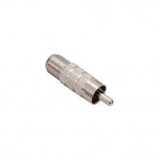 Conectori RCA male RCAM-F(P10), 10 bucati (tata) la F (mama)